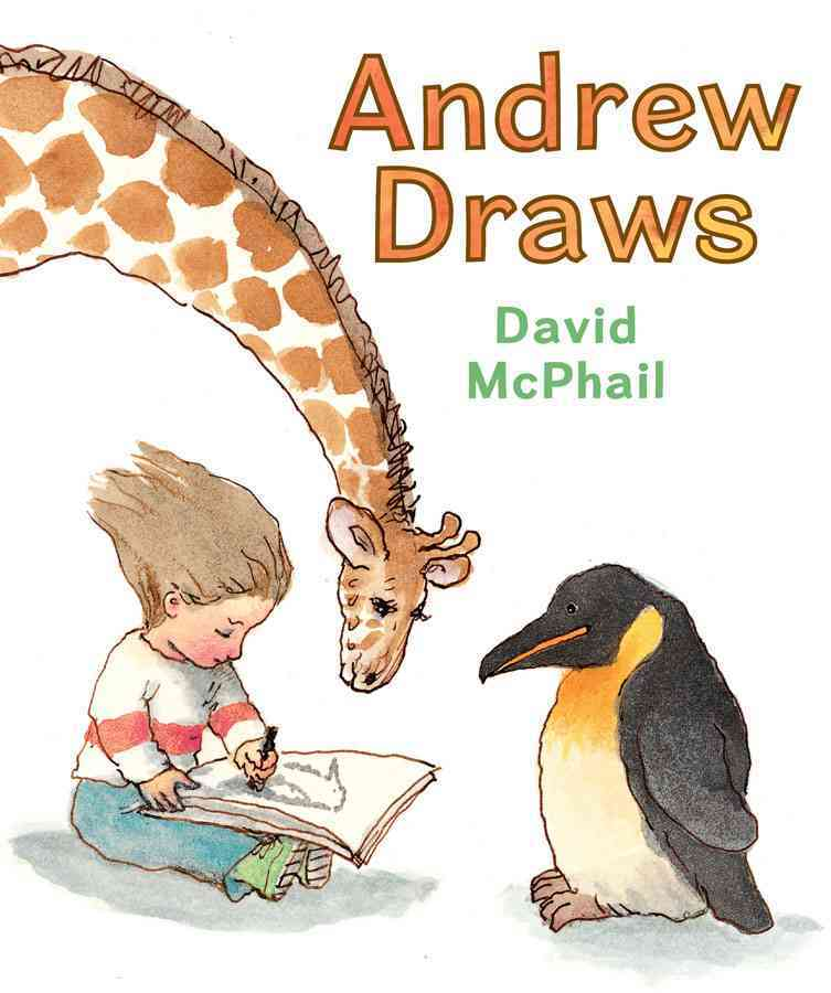 Andrew Draws By McPhail, David/ McPhail, David (ILT)